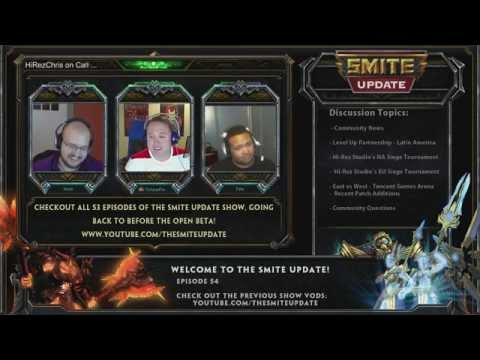 Smite Update Ep.54 - HiRez Chris Joins us for Spoils, News & Upcoming Changes!