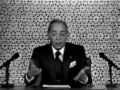 """Hassan II menace et insulte les Marocains qu'il quallifie """"des animaux""""!"""