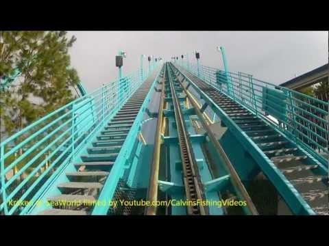 Kraken Roller Coaster Sea World