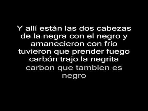 Violeta Parra - Casamiento de negros Letra HD