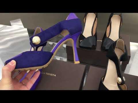 Эксклюзивные туфли BOTTEGA VENETA с квадратным носком