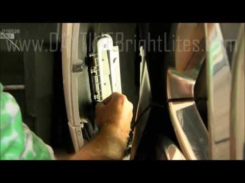 Ford Edge LED DRL - Daytime Running Lights - EDGE-2 Installation