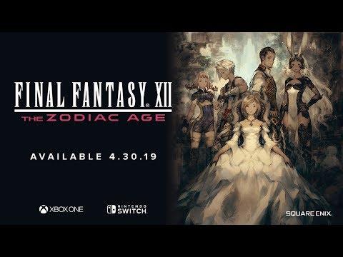 Test - Final Fantasy XII : un classique du RPG débarque sur Switch et Xbox One - Geeko