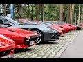 100 FERRARIS LINED UP!  |  Ferrari Club Finland  |  PRANCING HORSE PARADISE!