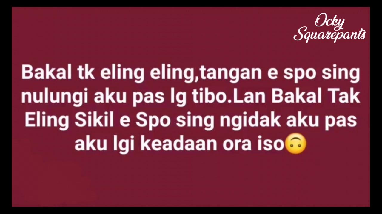 Kumpulan Caption Jawa Story Whatsapp Youtube