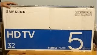 Unboxing Samsung N5300 Smart TV