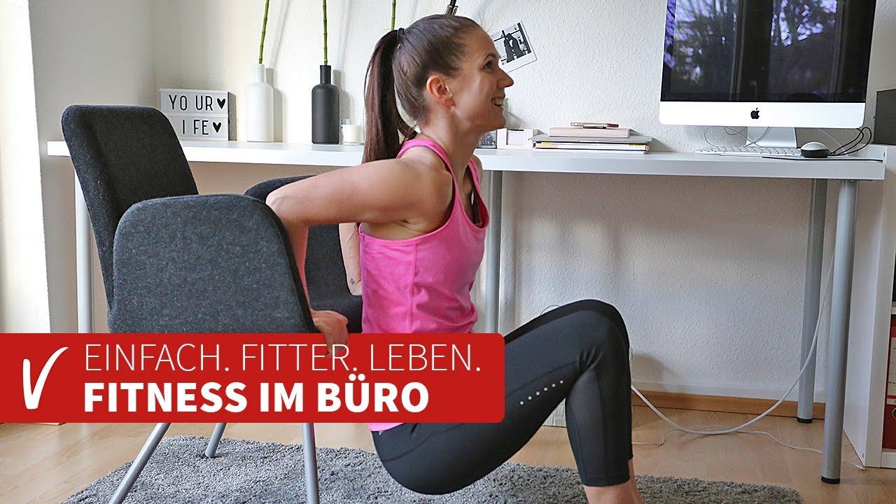 Fit Trio Präsentiert Die Besten Fitness übungen Fürs Büro Youtube