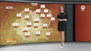 Meteo cu Iuliana Bivol (prognoza 24 octombrie 2017)