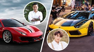 7 Vietnamese stars have the most expensive supercar in Vietnam