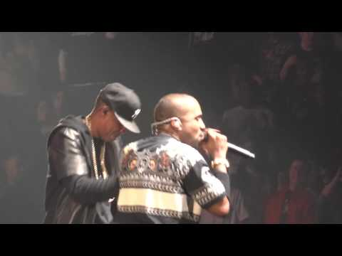 Jay-Z Kanye West Niggas In Paris Live 2011 HD