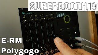 Superbooth 2019: E-RM - Polygogo Stereo Oscillator