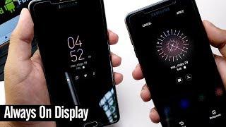Como Activar Always On Display en Cualquier Samsung   Nueva Versión Original Sin Root!