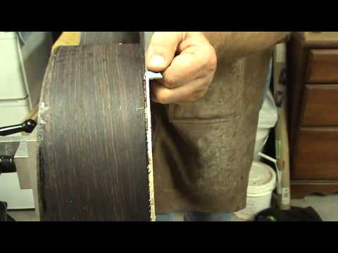 Luthier Tips du Jour - cutting binding channels by hand