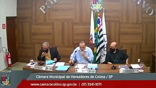 Câmara Municipal de Colina - 12ª Sessão Extraordinária 27/07/2021