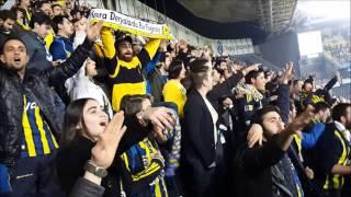 Fenerbahçe Taraftarından 12 Dakika Boyunca Ali İsmail Korkmaz Marşı