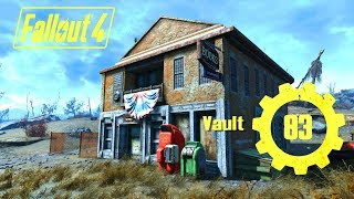 Fallout 4 - Vault 83 - The Librarian ft. TIME TRAVEL?! - Xbox, PS4, PC Quest Mod