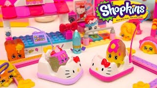 Shopkins Season 4 Play Video - Bumper Cars Date - Toy Series Part 4 Cookieswirlc