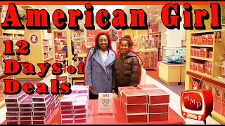 AMERICAN GIRL Shopping - 12 Days of Deals