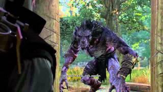 Ведьмак 3 Дикая Охота (В волчьей шкуре) #86