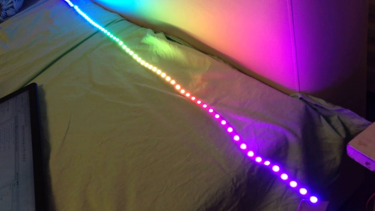 Rainbow on LED strip WS2812 STM32