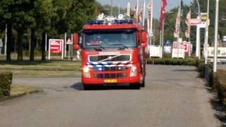 Brandweer - Waalwijk Prio 1 Auto brand