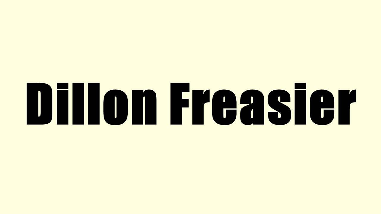 dillon freasier 2015