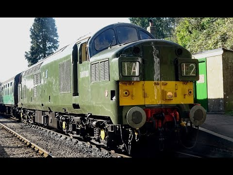 Mid Hants Railway - Diesel Weekend 2017