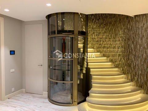 Панорамный лифт в дом! Сложно ли установить?