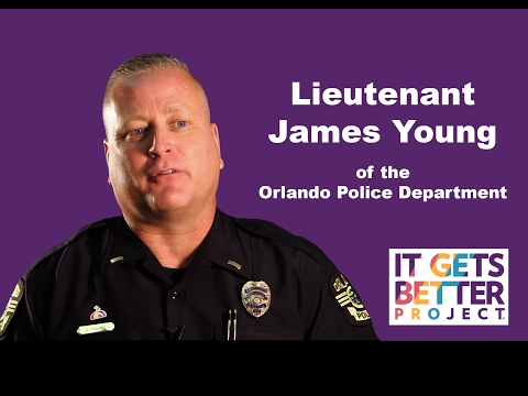 It Gets Better: Lt. James Young of the Orlando Police Department