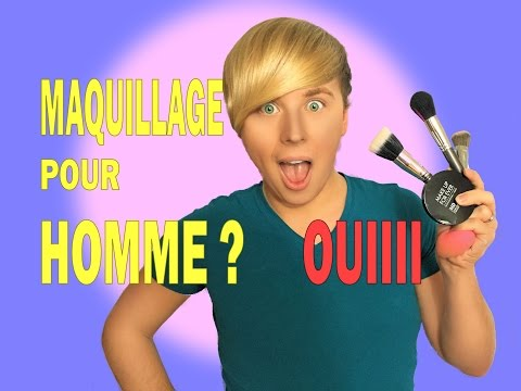 MAQUILLAGE pour HOMMES INVISIBLE
