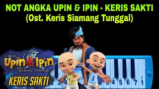 Download lagu Not Pianika Upin Ipin - Keris Sakti (Ost Keris Siamang Tunggal)
