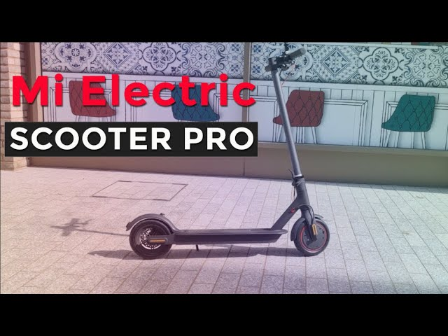 Mi Electric Scooter Pro Youtube