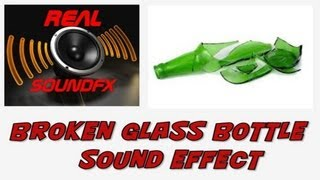 Breaking or smashing glass bottle sound effect - realsoundFX