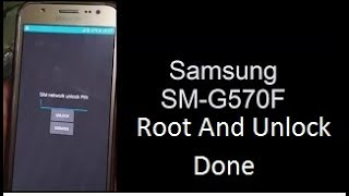 Samsung Galaxy J5 Prime SM G570F Root And  Network Unlock Done By Octoplus Box