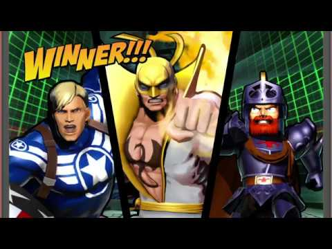 UMVC3 Online Ranked - Iron Fist/ Arthur/ Captain America
