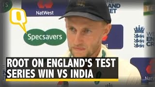 Joe Root On England Winning the Test Series Against India | The Quint