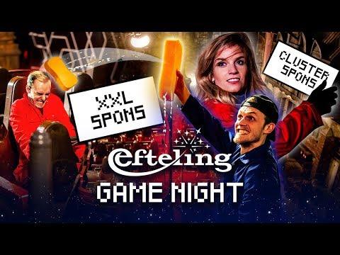 ZEESLAG IN DE VLIEGENDE HOLLANDER met Link, Milan, Dionne en Joost | Efteling Game Night #3