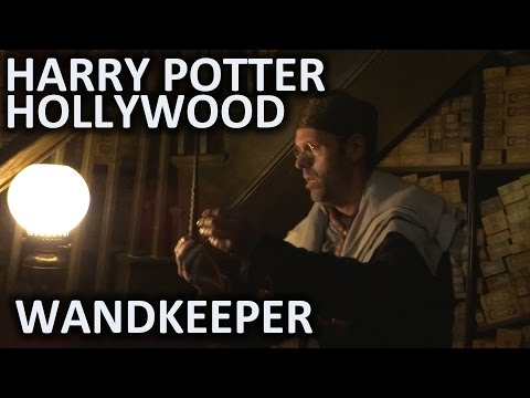 Wandkeeper FULL SHOW at Universal Studios Hollywood's Wizarding World of Harry Potter