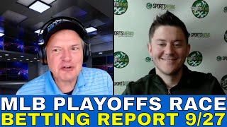MLB Picks and Predictions | MLB Playoffs Betting Outlook | Playoff Preview & Free Picks 9/27