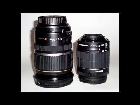 Canon EF-S 17 55mm F2.8 IS USM      VS     EF-S 18 55 F 3.5-5.6 IS STM