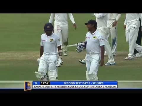 Sri Lanka v Pakistan, 2nd Test - Day Three: Highlights