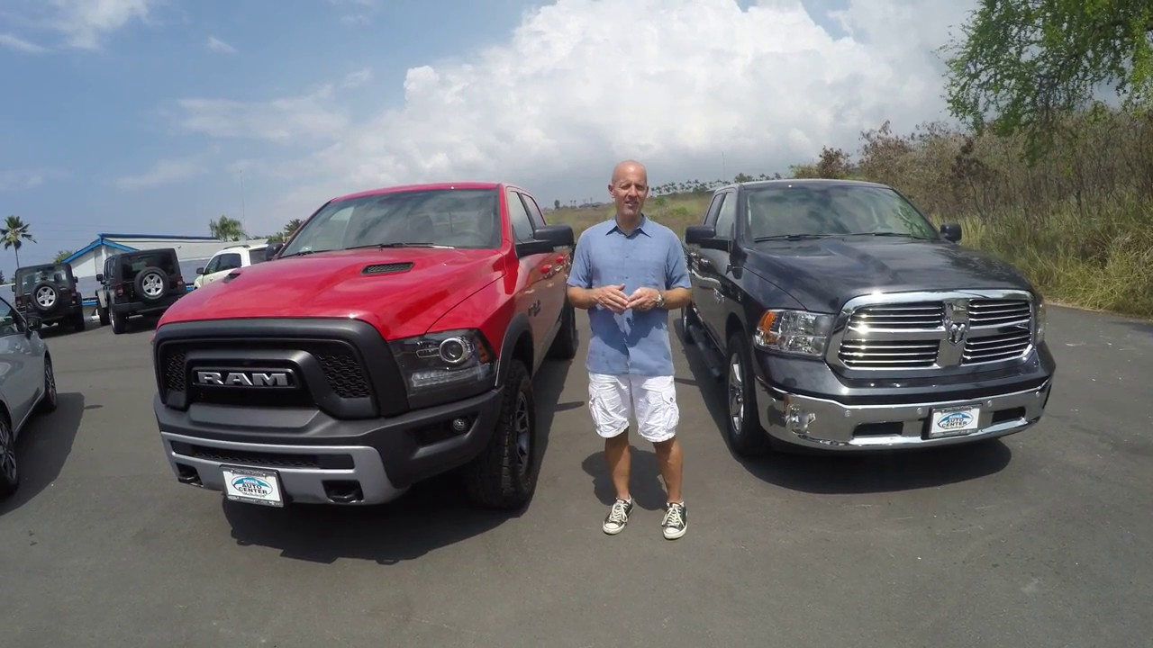 Review 2017 Horn Hemi Vs Ram Rebel 2 Great Trucks 1 Winner