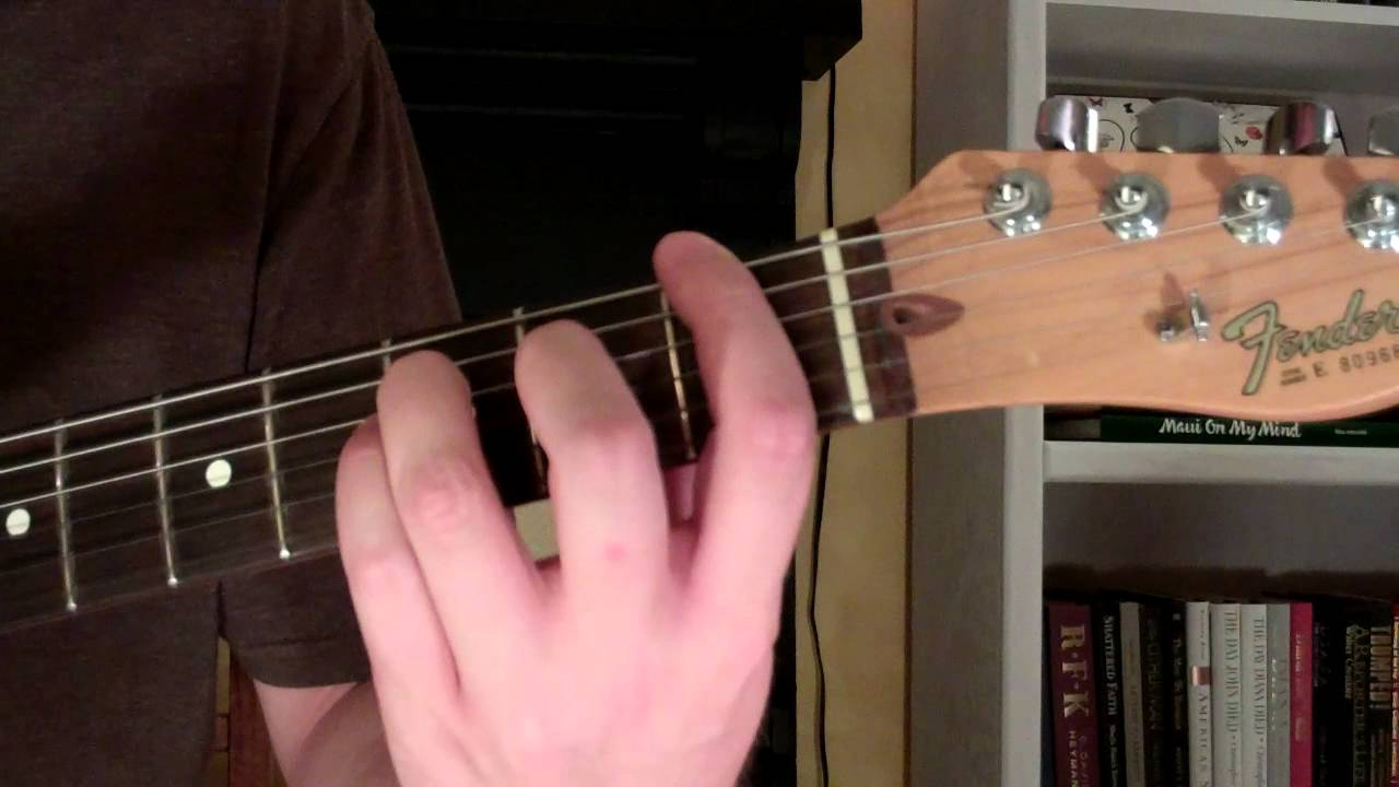 How To Play The Fm6 Chord On Guitar F Minor Sixth 6th Youtube