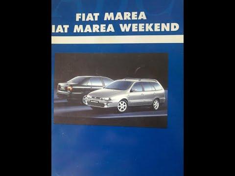 FIAT MAREA ELX TD Vs. MAREA WEEKEND SX 2.0 TEST AUTO AL DÍA (1998)