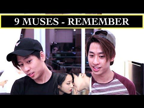 9MUSES - REMEMBER MV REACTION 나인뮤지스 기억해 (TWINS REACT)