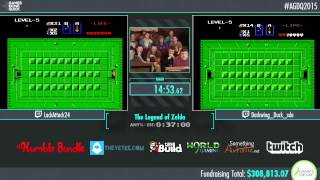 Awesome Games Done Quick 2015 - Part 70 - The Legend of Zelda by Darkwing Duck and lackattack24
