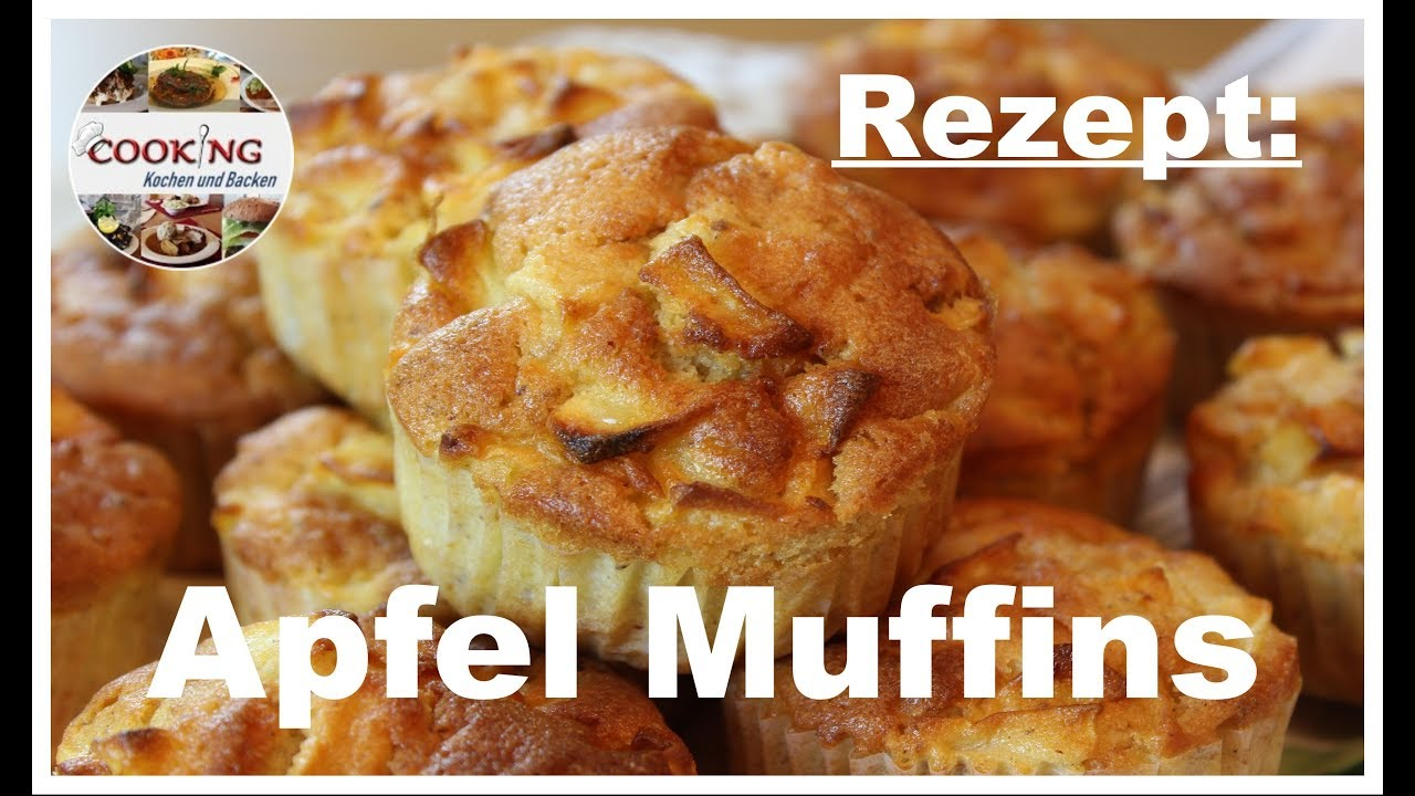 apfel muffins schnell lecker und saftig youtube. Black Bedroom Furniture Sets. Home Design Ideas
