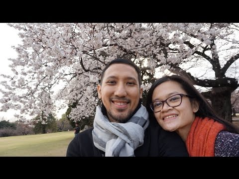 Japan Trip 2016 - day 3 (JR Pass and Shinjuku Gyoen)