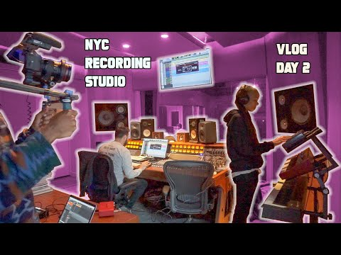 I GET PAID TO BE ME || NYC Vlog Day 2 || Collaborating with others PRODUCERS!