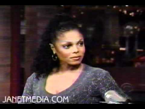 Janet Jackson On Letterman 98